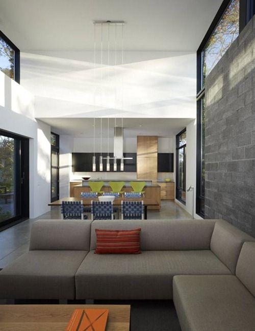 bay view homes natural modern private courtyard casa moderna con vista a lau
