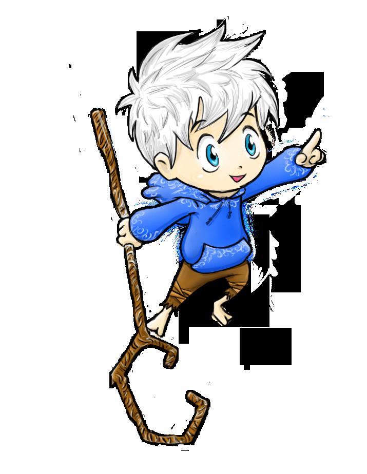Chibi Jack Frost! ^-^