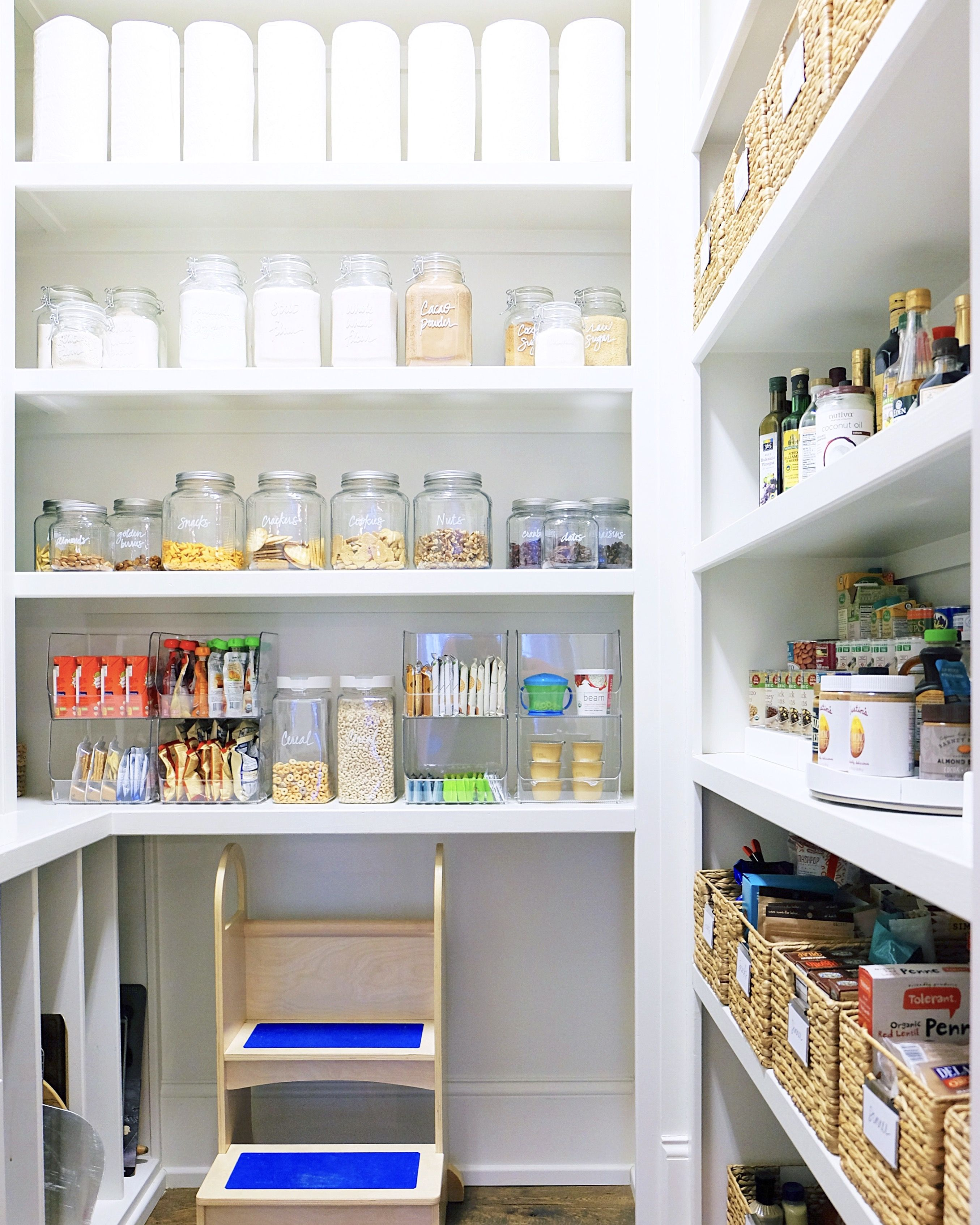Pin by The Home Edit on [ Pantry ] | Pinterest | Pantry, Organizations and  Organizing