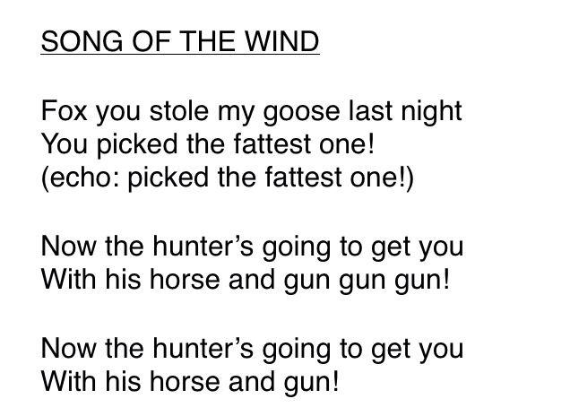 Suzuki book 1 lyrics Song of the wind lyrics   Violin suzuki method