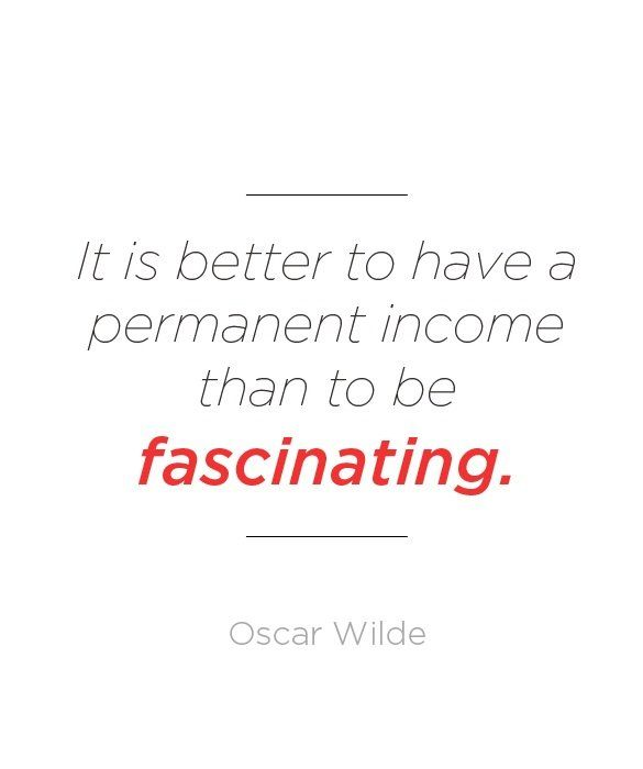 Oscar Wilde certainly knew the importance of being earnest.