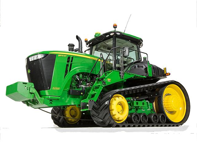 9570RT Scaper Special Tractor 9R/9RT Series Scraper Special Tractors Four-Wheel Drive Tractors Tractors