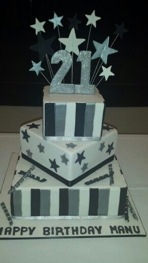 Boys 21st birthday cake Cake central Pretty Cool Cakes Pinterest