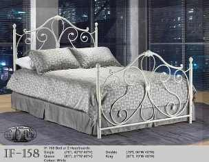 ansley white wrought iron double bed frame perfect little princess bed