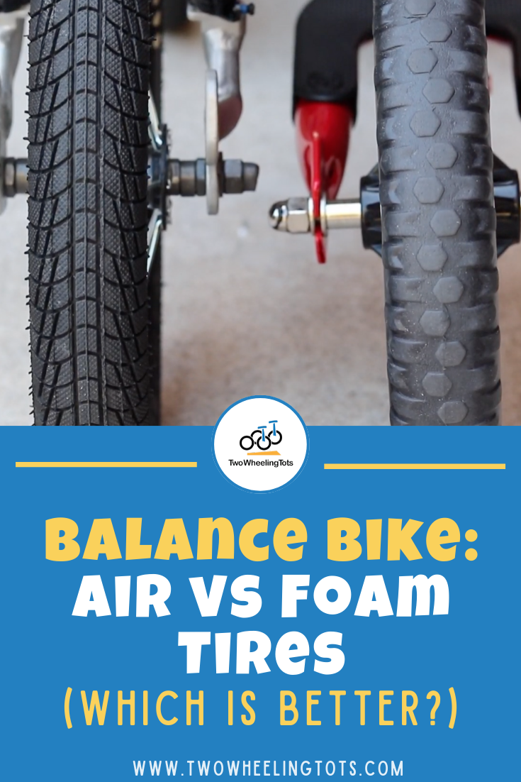 Balance Bike Air Vs Foam Tires Which Is Better Most Budget
