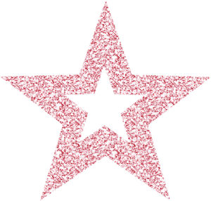 Psbt0516 Lmsd Happybday Pink Glitter Star Outline Png Glitter Quotes Stars Craft Star Wallpaper