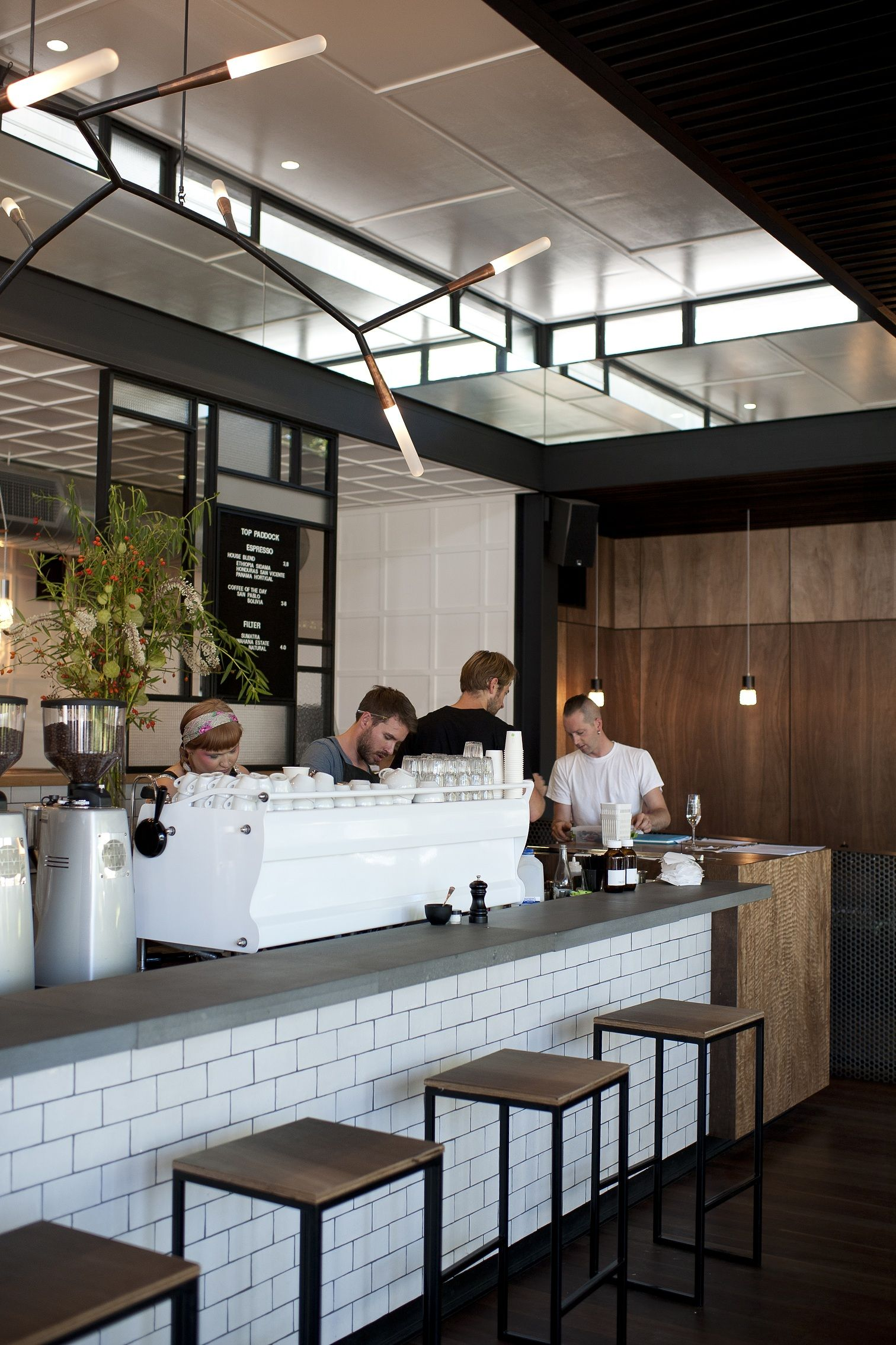 Top paddock melbourne is design coffee shop in cafe