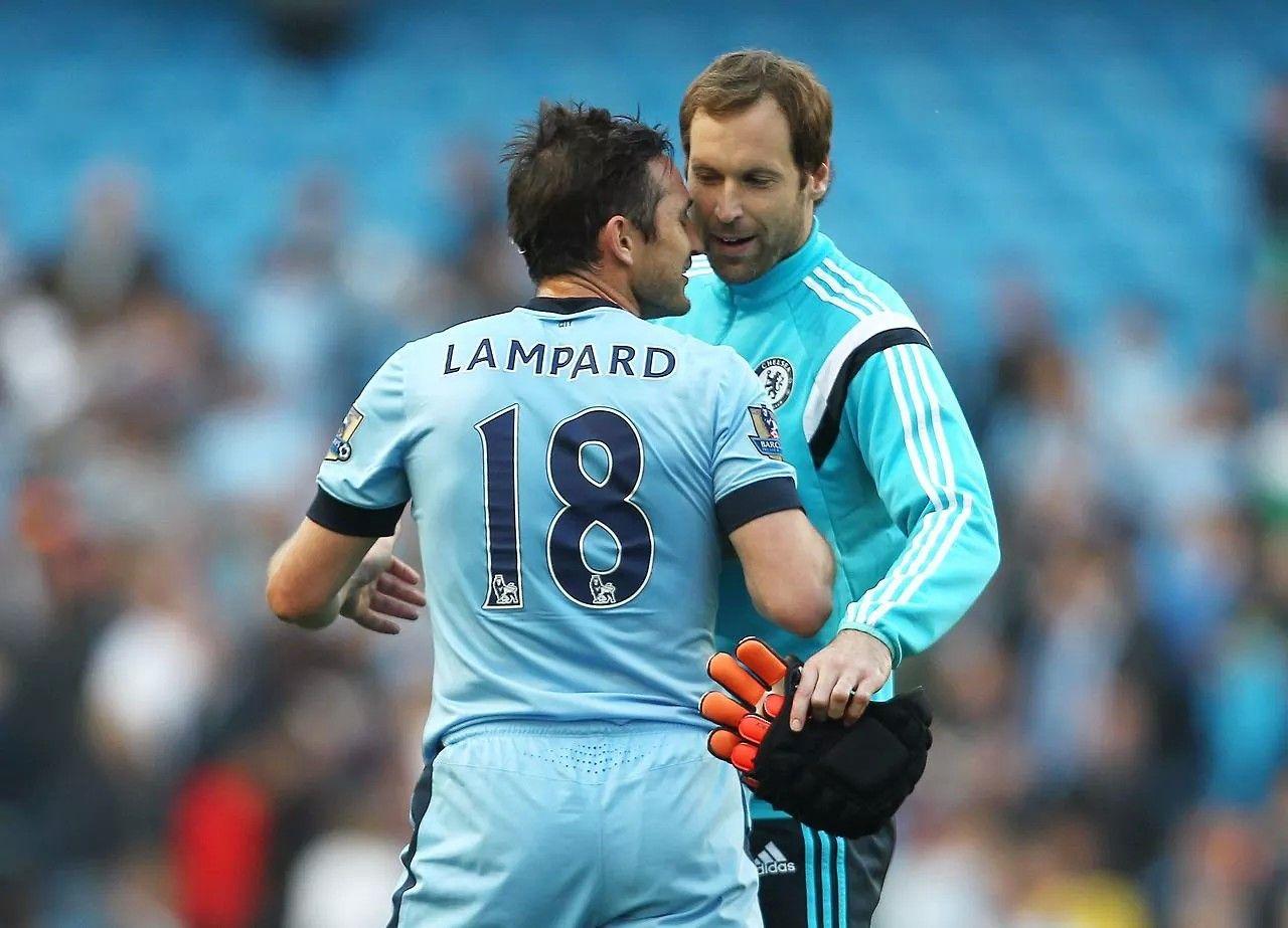 Petr Cech Frank Lampard Petr Cech