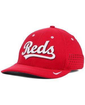 9e4b706c Nike Cincinnati Reds Vapor SwooshFlex Cap - Red M/L | Products ...