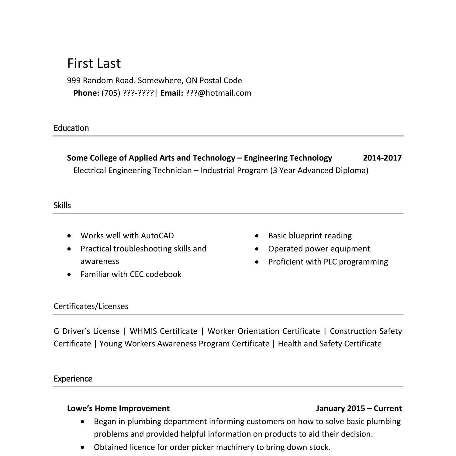 Reddit Resume Templates Cv Template Best Resume Template
