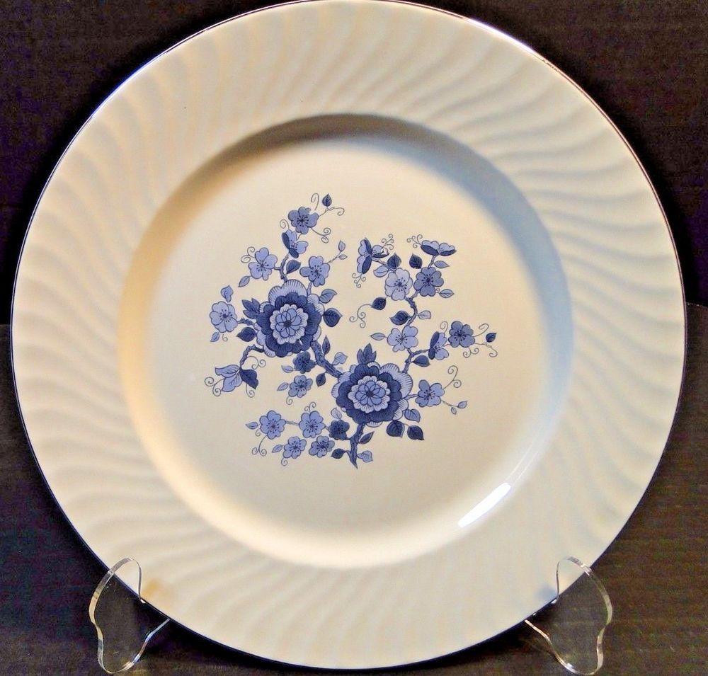 Dinnerware · Wedgwood Royal Blue ... & Wedgwood Royal Blue Ironstone Dinner Plate 10 1/8\