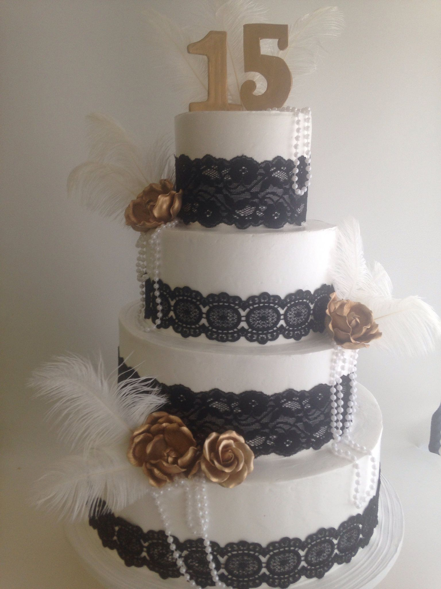 Great Gatsby Themed Cake 3762 In 2019 Women S