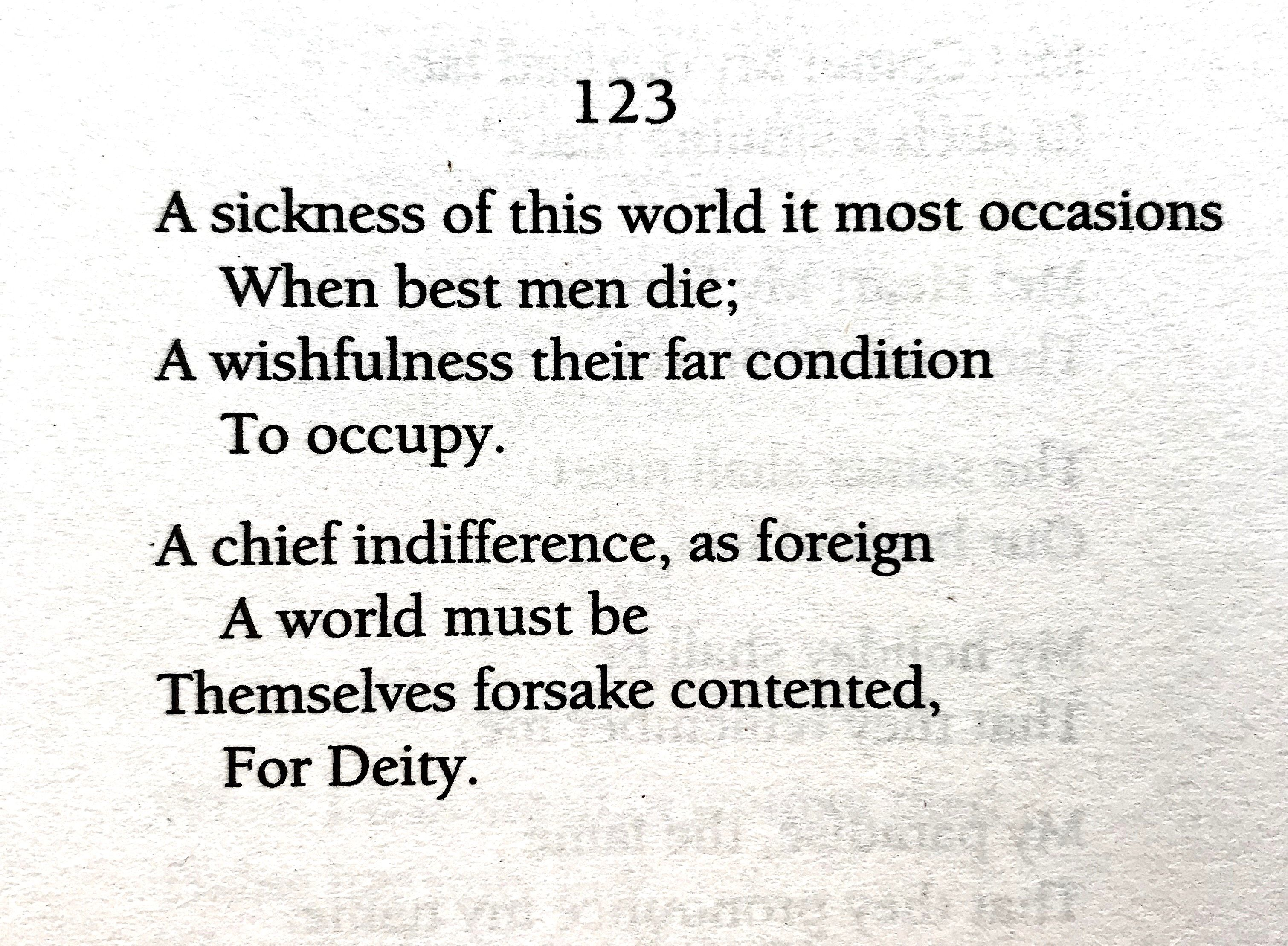 emily dickinson this world is not conclusion