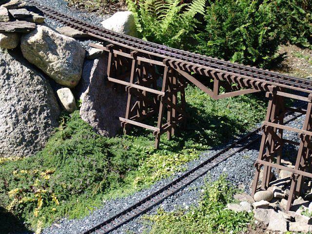 GRR Trestle Bridge Garden Railways Pinterest Model train