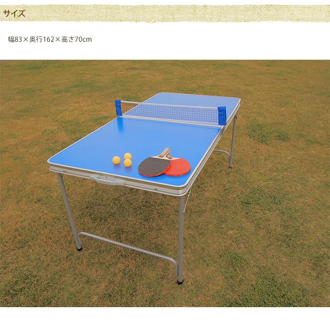 お外で遊ぼう 簡易ピンポン台セット レギュラー お庭 遊び子供 卓球