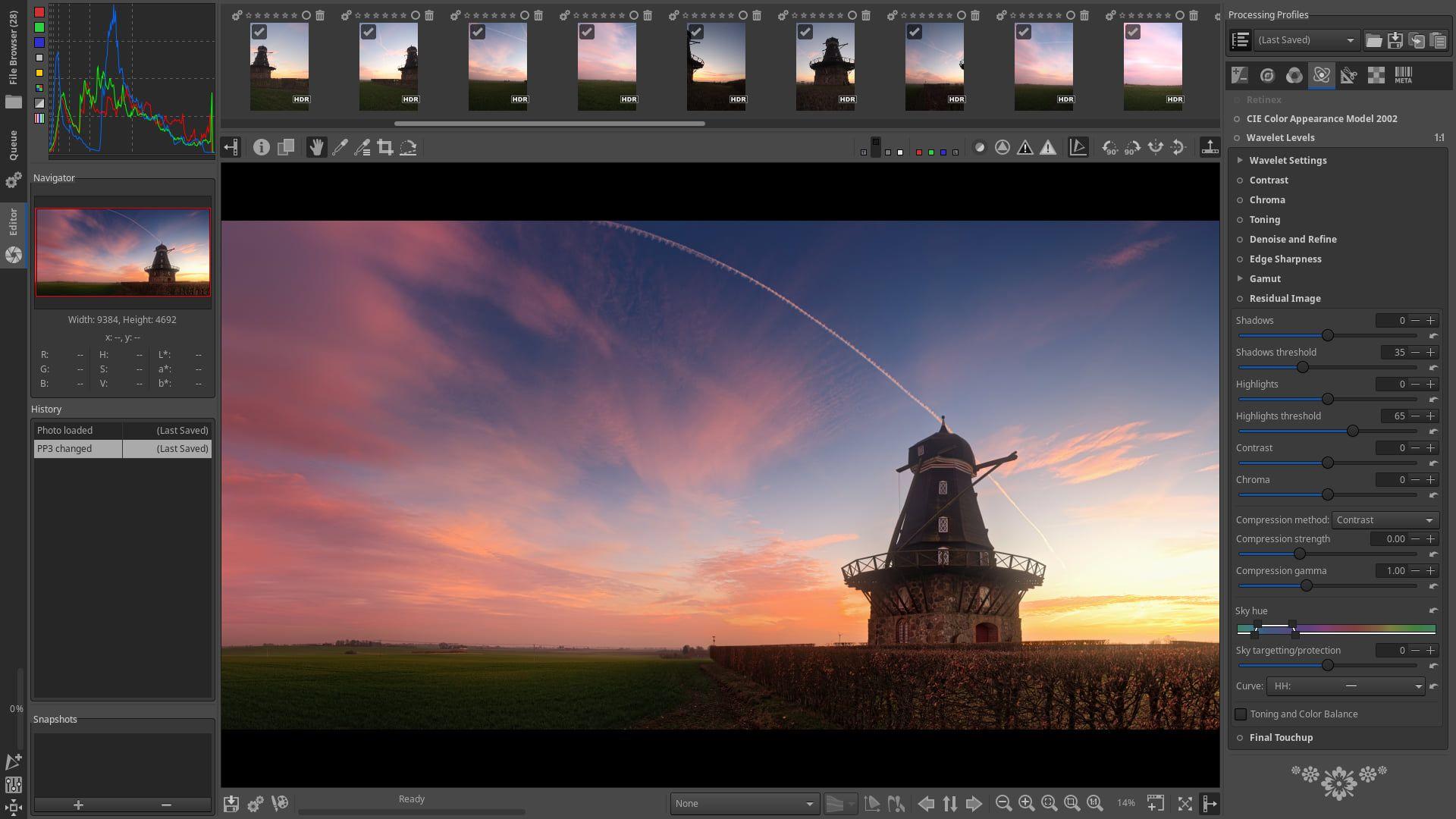 RawTherapee v5.7 (MacOS) A free raw image processing