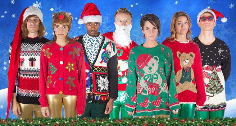 christmas sweaters x - Tacky Christmas