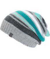 c19ab6ee8fb Empyre Margo Stripe Beanie (Zumiez) - All I need is one sample hat to serve  as a model and I can make this as a stash buster!