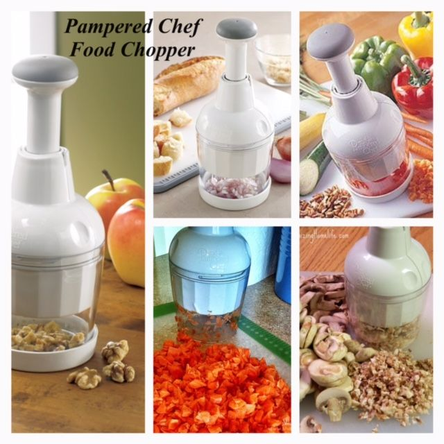 Can The Pampered Chef Manual Food Processor Chop Nuts
