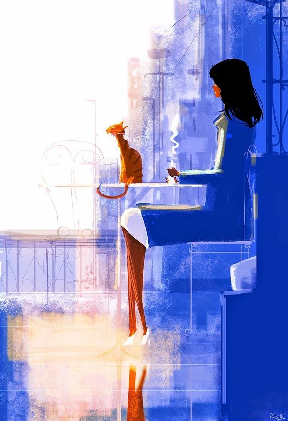 Brunch for one...or two? #pascalcampionart