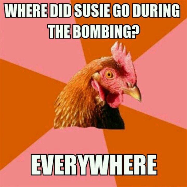 Anti Joke Chicken Meme
