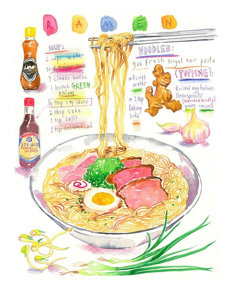 Image Illustrations Alimentaires De Megaria Suparmun Du Tableau
