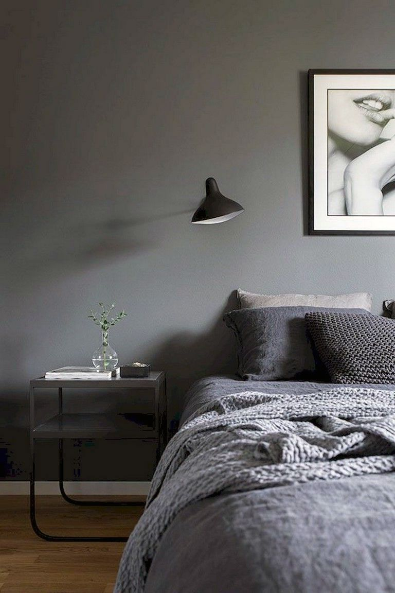 24 Dark Scheme For Scandinavian Interior Bedroom In 2020 Scandinavian Interior Bedroom Bedroom Interior Home Decor Bedroom
