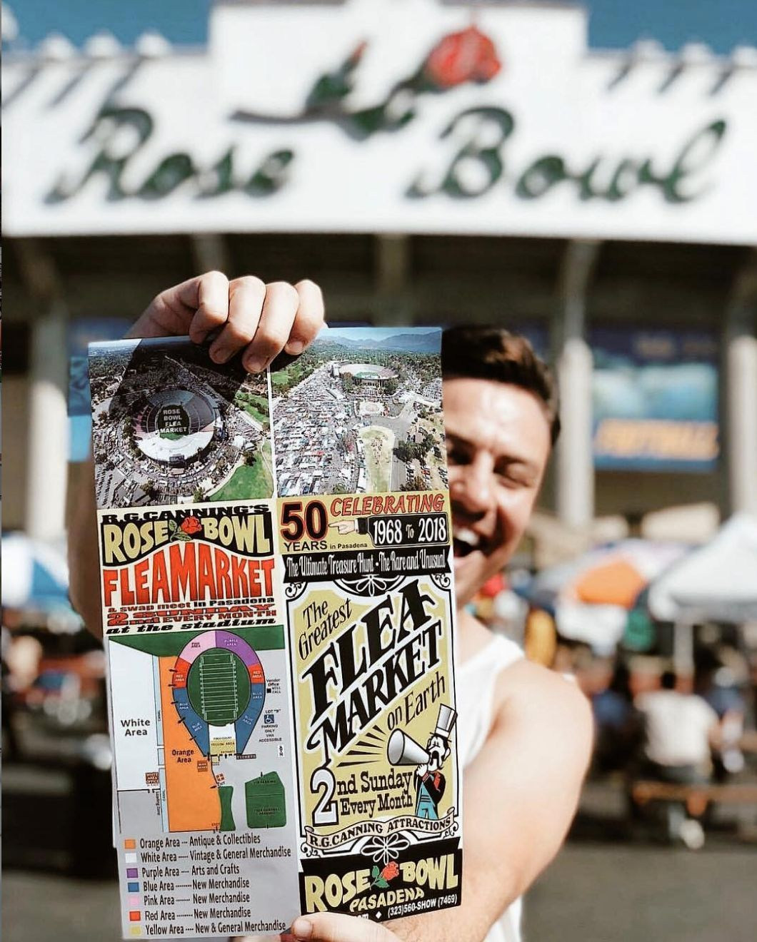 7 Things I Learned From My First Trip To La S Rose Bowl Flea Market Rose Bowl Flea Market Rose Bowl La Trip