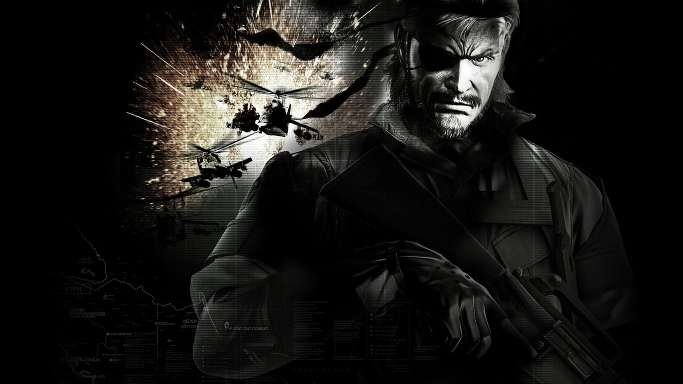 Big Boss Mgs Wallpaper Hd Resolution With Images Metal Gear