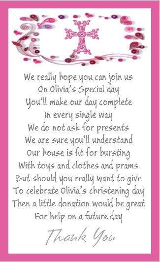 birthday money gifts christening poems