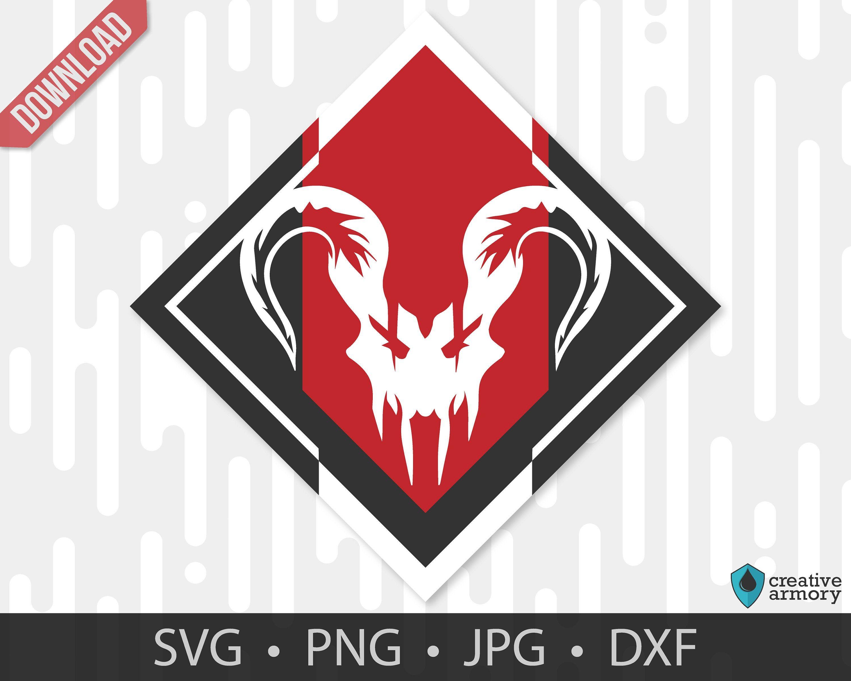 Apex Predator Achievement Badge Apex Legends Digital Svg Etsy Apex Predator Badge Digital Svg