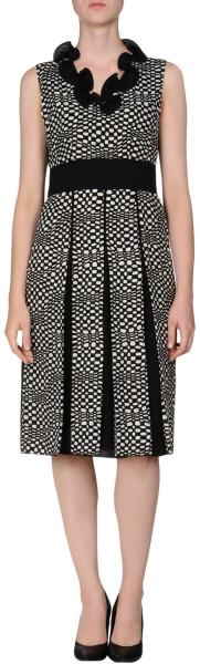 Marc Jacobs Kneelength Dress in Black