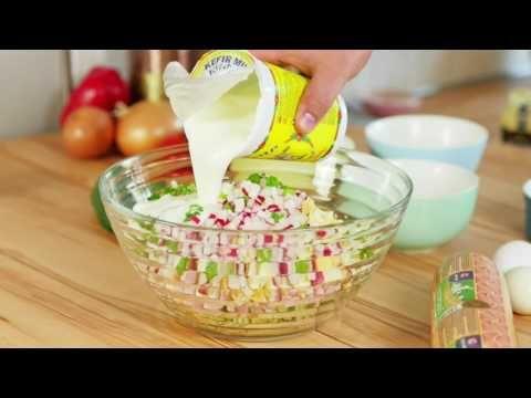 Sommer-Rezept // Okroschka die kalte Suppe // Osteuropäische Rezepte # kÖSTLICH