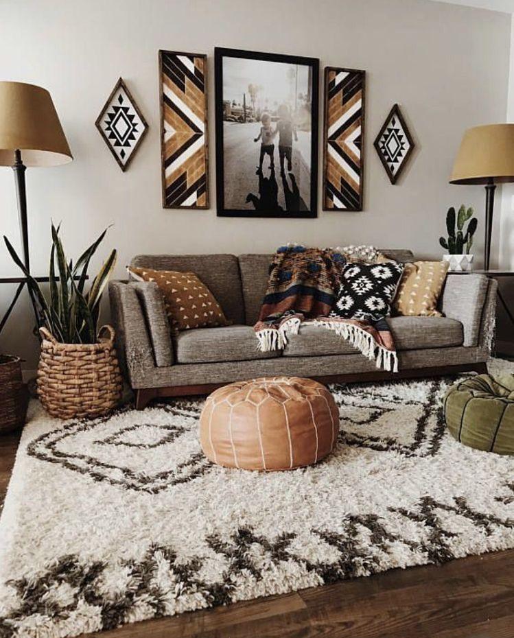 Earth Tone Living Room Decor Internal Home Design In 2020 Bohemian Living Room Decor Living Room Scandinavian Scandinavian Design Living Room