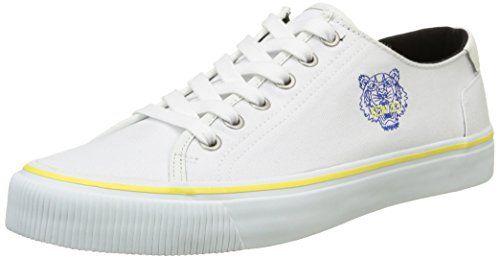 Sneakers tiger Blanc Herren Kenzo Weiß Vanha White fK7UHqvZ