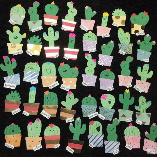 Love Always LB ♥ & Cactus Door Decs | RA Board | Pinterest | Door decs Cacti and Doors Pezcame.Com