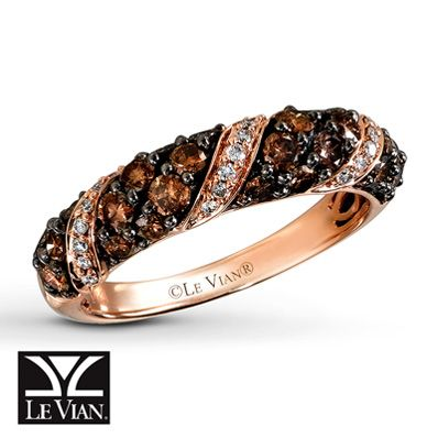 Le Vian Chocolate Diamonds® 14K Gold 1 Carat t.w. Ring--When I am ...