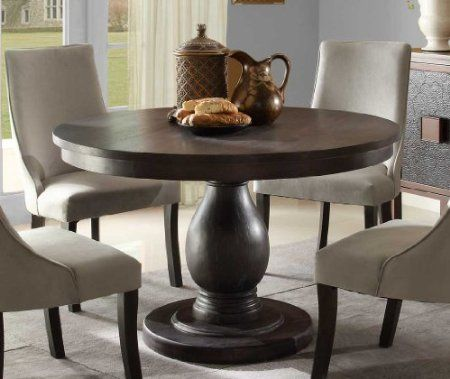 Homelegance Pedestal Dining Table Dandelion EL-2466-48 48\