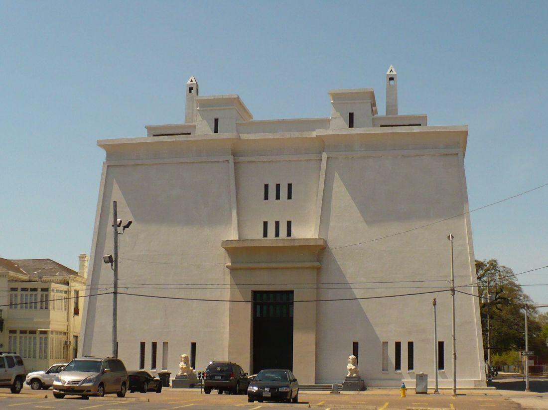 Egyptian Architecture Style the scottish rite temple (1921) in mobile, alabama | home sweet