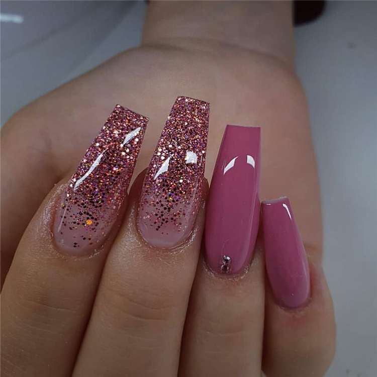 55 Stylish And Coolest Coffin Nail Designs To Start Your Wonderful Year 2020 Page 11 Of 55 Cute Hostess For Modern Women In 2020 Best Acrylic Nails Trendy Nails Posh Nails