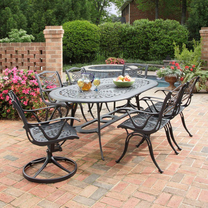 Have To Have It Home Styles Malibu Black Cast Aluminum 400 x 300