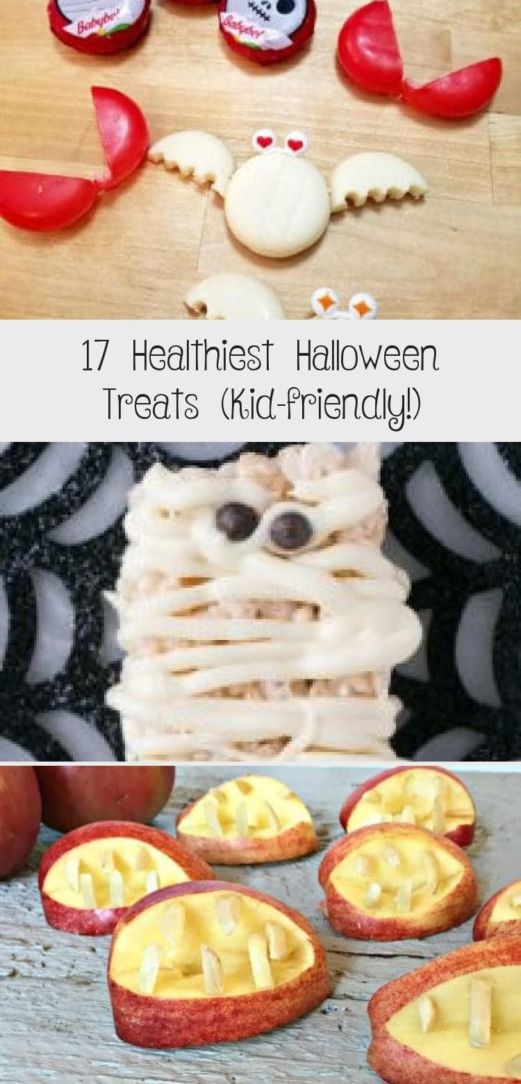 Healthiest Halloween treats for school! These easy kid friendly Halloween treats are perfect for