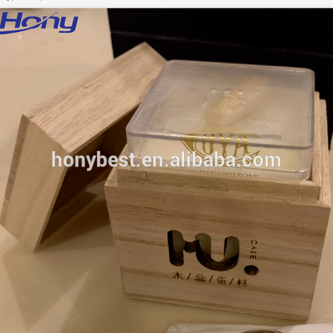Eco Wooden Food Packaging Cake Boxes 10x10x5 With Lift Off Lid For Custom Food View Cake Boxes 10x10x5 Hony Product Details From Jinan Hony Trading Co Ltd In 2020 Wooden