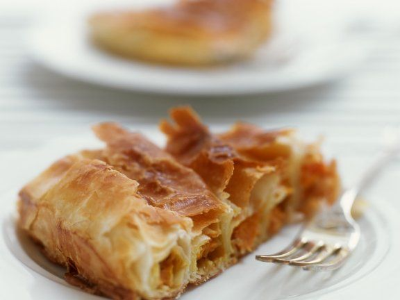 Rezept: Kürbis-Flioteig-Kuchen