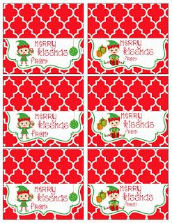 graphic about Christmas Bag Toppers Free Printable named Cost-free Xmas Address Bag Toppers MySunWillShine Printables