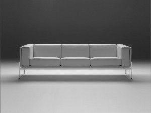 Charming Eero Saarinen Three Seat Sofa   Foam Cushions, Mid Century Modern Furniture  And Third
