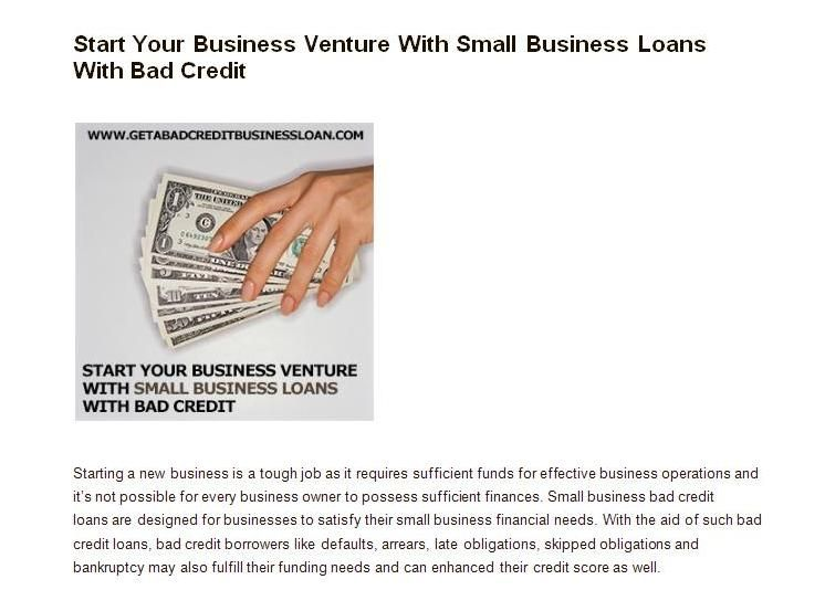 Bad Credit Loans Loans For Bad Credit No Credit Loans Bad Credit
