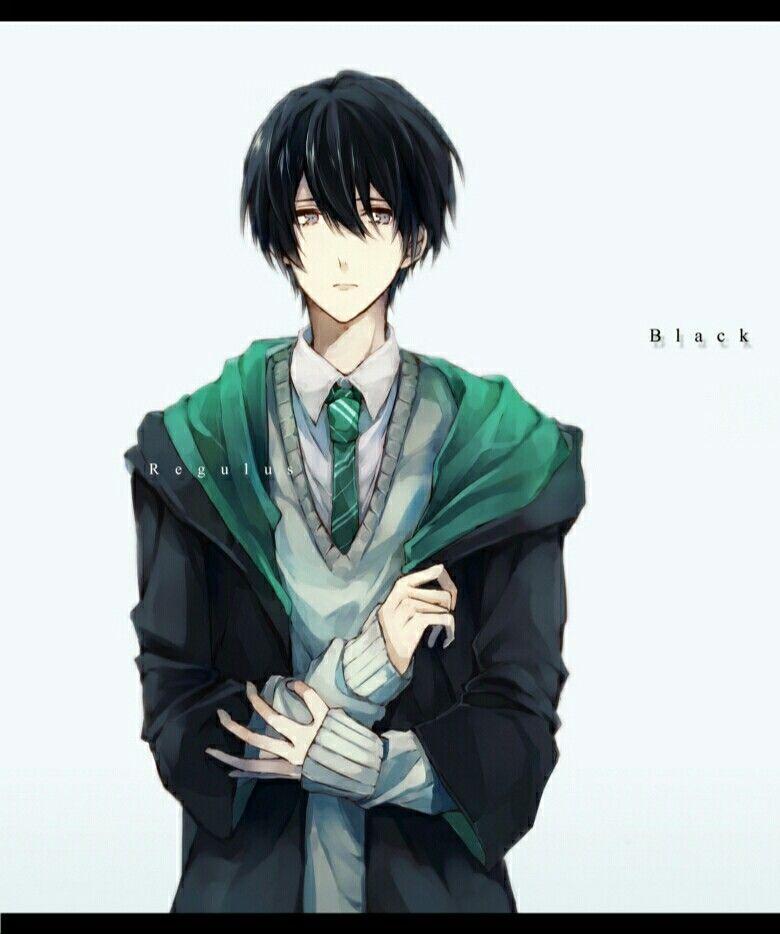 Regulus Black. Ich Mag Anime Boys Mit Schwarzen Haaren