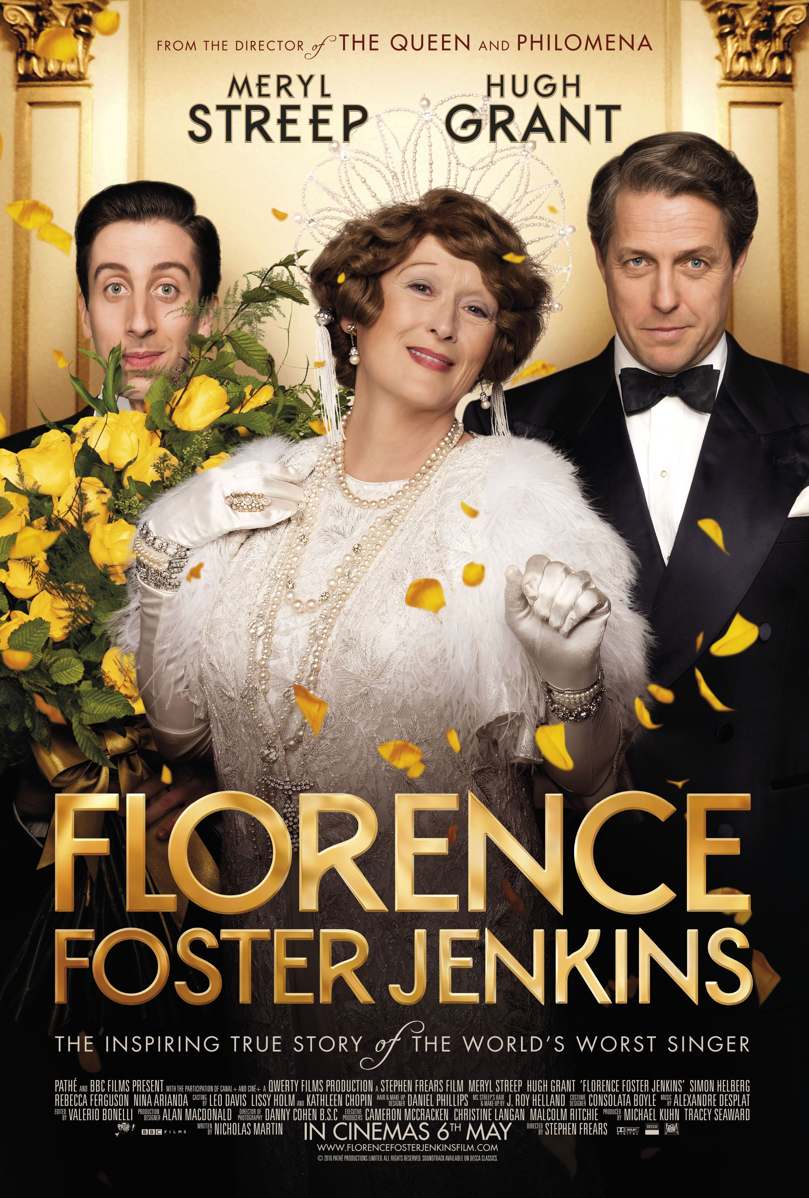 Florence Foster Jenkins/《走音歌后》/Stephen Frears/英國、法國 The