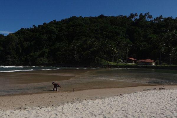 Praia de Jeribucaçu, em Itacaré. Visite o BrasilGuias